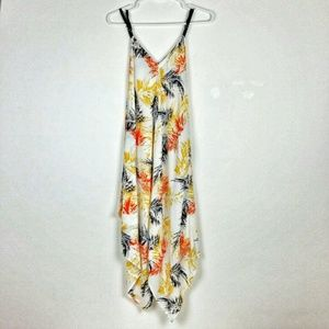 Ces Femme Small Asymmetrical Cami Dress Print